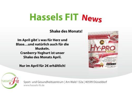 Shake des Monats April