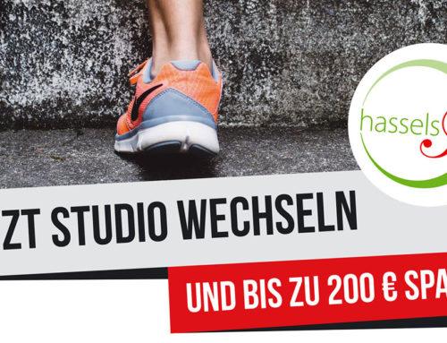 Jetzt Studio wechseln und bis zu 200€ sparen!