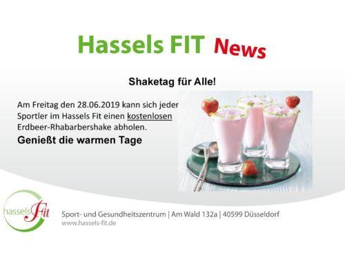 Shaketag für Alle!